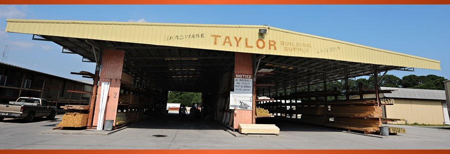 Taylor's Building Supply Lumber Yard