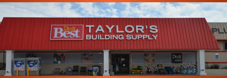 Taylor's Building Suplly Eastpoint, Florida DO IT BEST